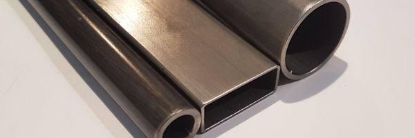corte de tubo de acero